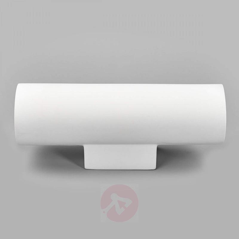 2-bulb plaster wall lamp Norwin - indoor-lighting