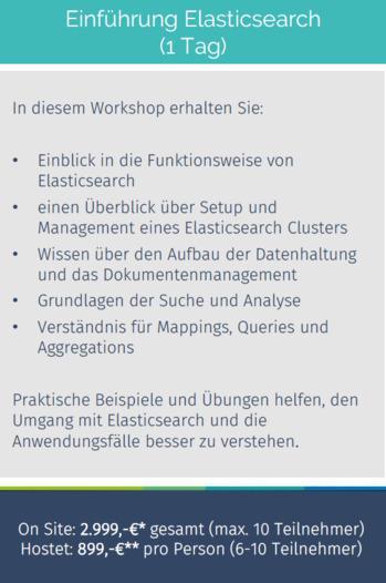 Schulung: Einführung Elasticsearch -