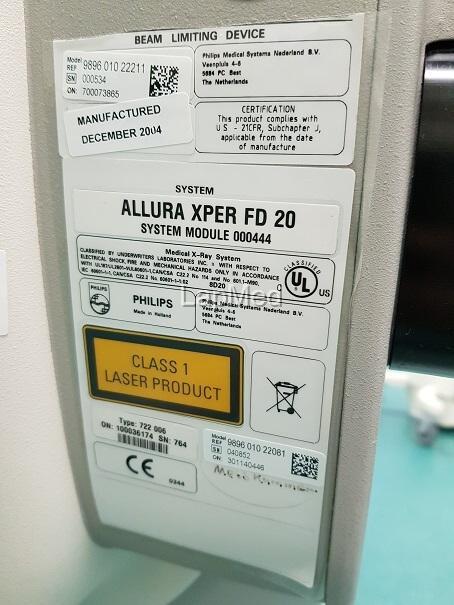 Angiographie Philips Allura Xper FD20 - Röntgenanlage gebraucht kaufen und Geld sparen