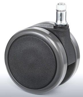 "Reinforced copolymer ""W"" type soft treads - CASTOR EMI Ø mm. 75 ""GEMIOPEN"""