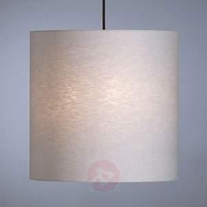 Pendant light by Schnepel, natural, linen - Pendant Lighting