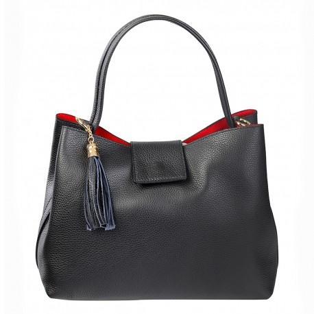 Otho Leather handbag - Rome Series
