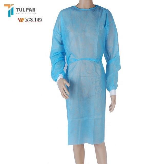 φόρεμα απομόνωσης φθηνά ρούχα προστασίας μίας χρήσης ρούχα - SS PP απομόνωση φόρεμα νοσοκομείο φθηνά φορέματα μίας χρήσης ρούχα SS