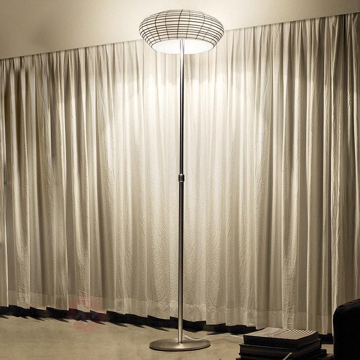 Lampadaire réglable en hauteur Yuba et variateur - Tous les lampadaires