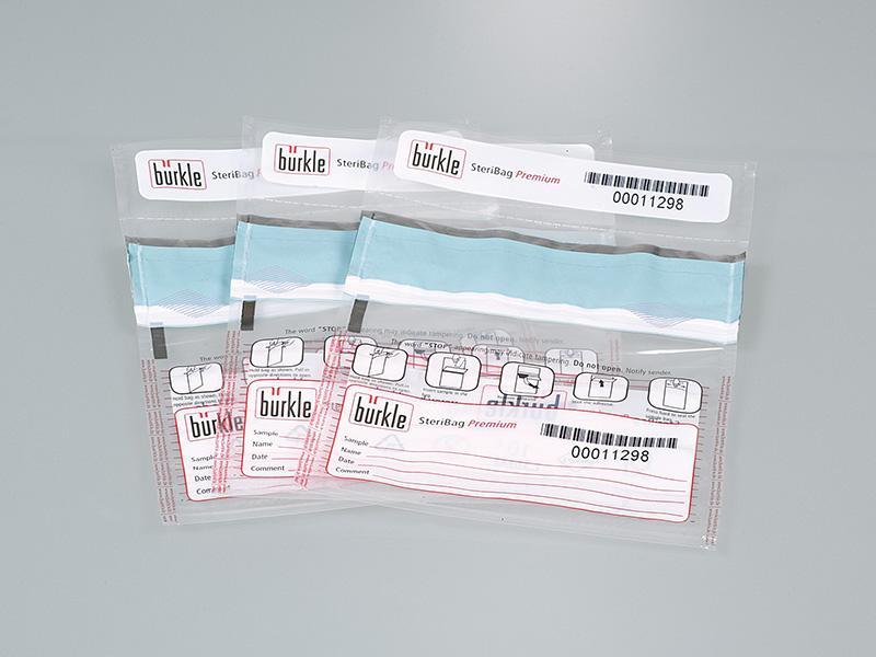 Sachets de conditionnement inviolables SteriBag Premium - Prélèvement à usage unique & stérile