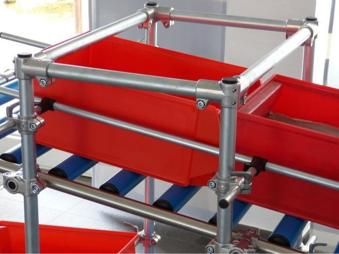 Raccords tubulaires en aluminium - Solid Clamps