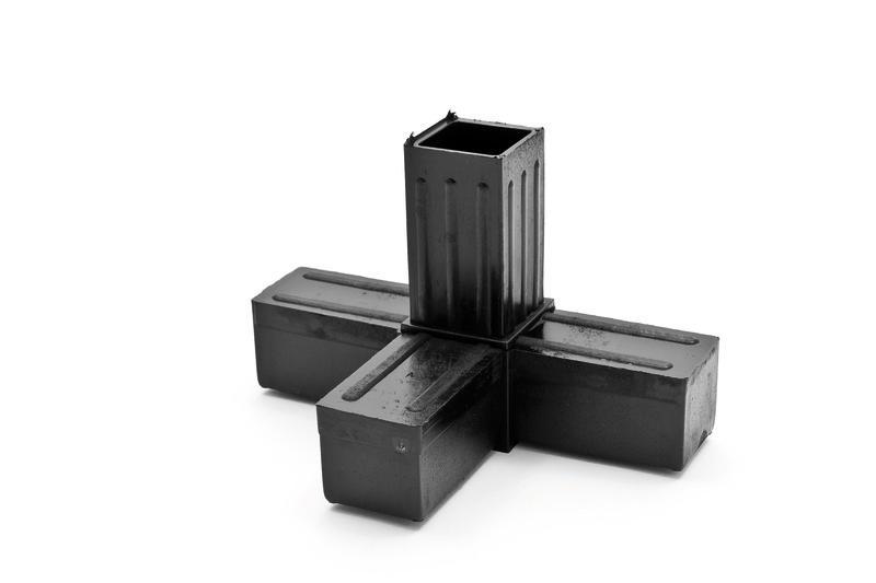 Raccordo 30x30 a quattro vie - Accessori per assemblaggio