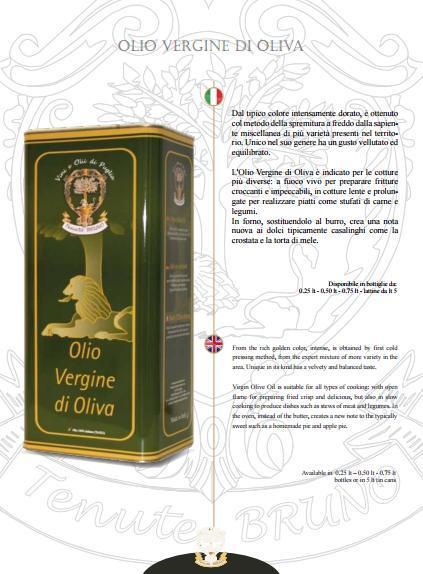 Natives Olivenöl - Natives Olivenöl