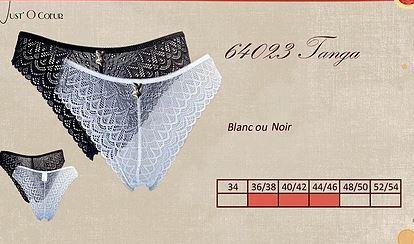 Slips en dentelles - TANGA - Lingerie pour Femmes