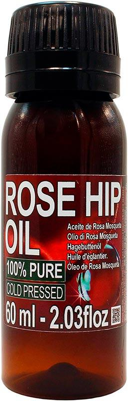 Aceite Puro de Rosa Mosqueta 60ml Organiterra -