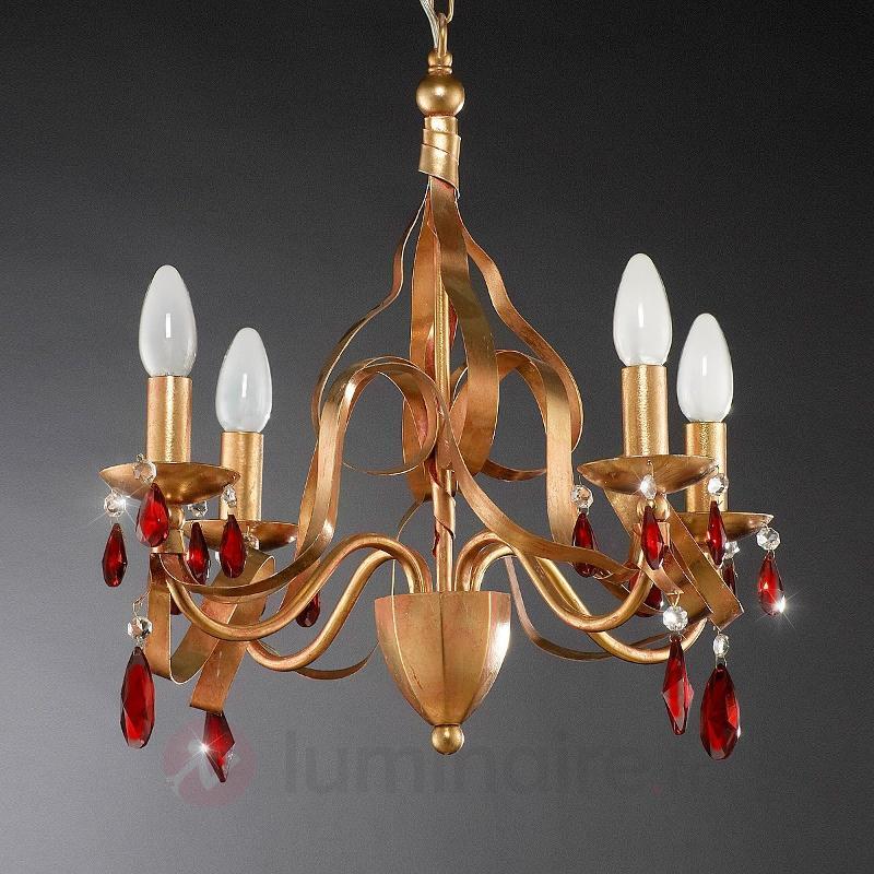 Somptueux lustre NEAPEL - Lustres rustiques