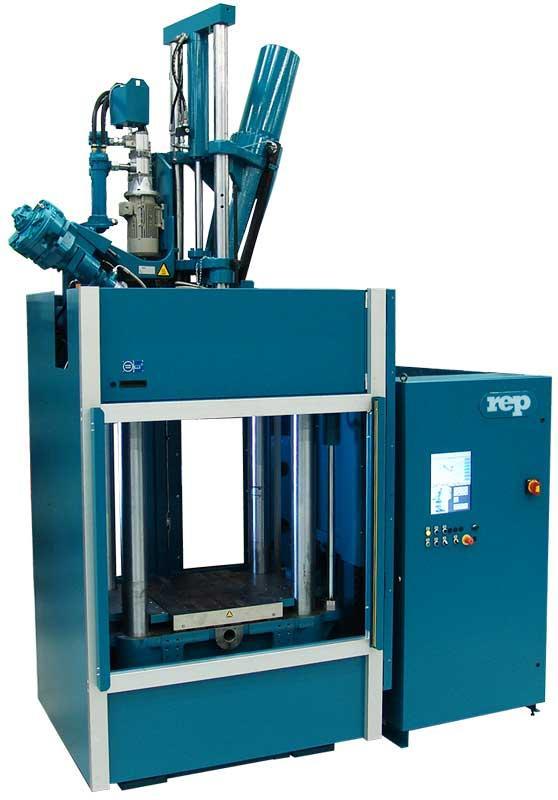 Presses à injecter le caoutchouc verticales REP - Gamme G10 Core Lean