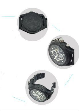 carbon fiber watch GCC18001 in England - Top quality japan movement 100% real carbon fiber mechanical watch manufacturer