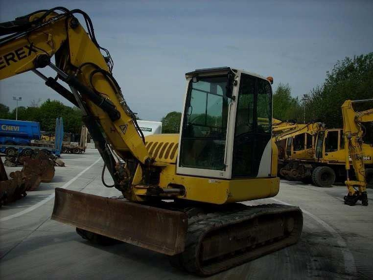 Excavators - Terex TC 125