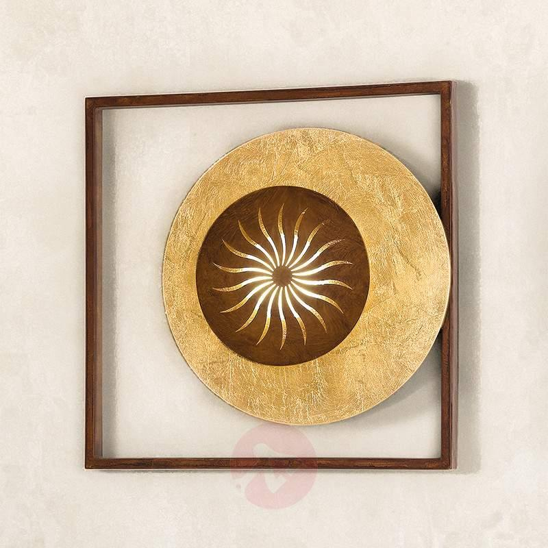 Attractive wall light Ajani gold - Wall Lights