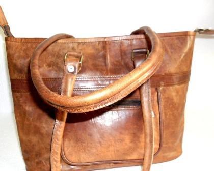 Leather Tote Bag - Leather Shoulder Bag