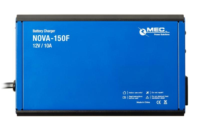 MEC NOVA-150F Battery Charger - Battery Charger for Small to Medium Sized Batteries