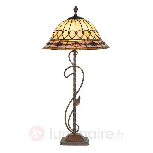 Lampadaire décoratif KASSANDRA - Lampadaires style Tiffany