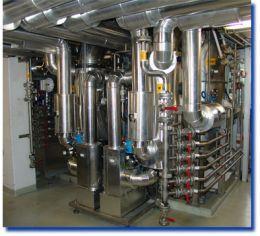 Plants Solvent Recovery - CON fix ® 250 S EEx - Heat Pump Evaporator