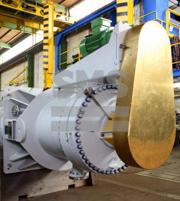 Evaporador de Película Fina - Evaporador de película fina están diseñados en orientación vertical y horizontal