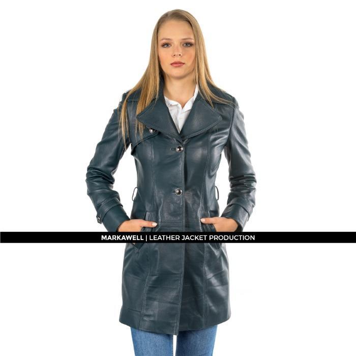 MW WOMAN LEATHER JACKET - MWL10007M-1