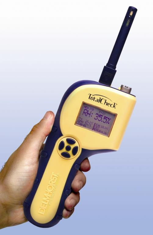 Building materials moisture meter - Inspection