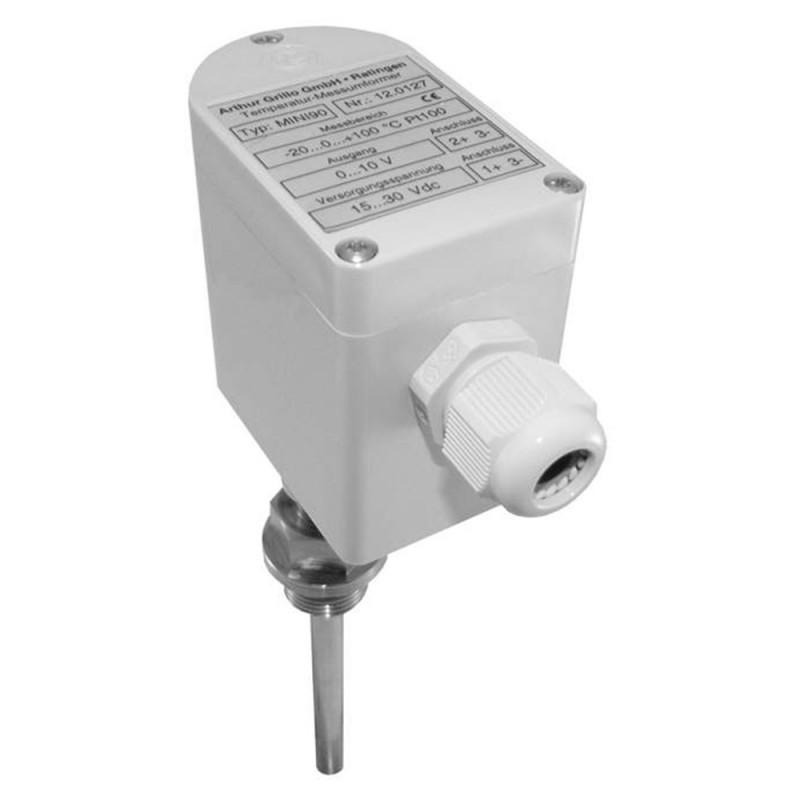 Transmisor de temperatura Pt100 - MINI90-P - Transmisor de temperatura Pt100 - MINI90-P