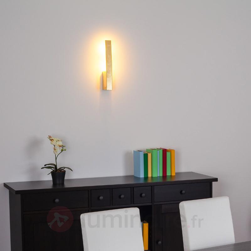 Applique LED Xalu dorée - Appliques LED