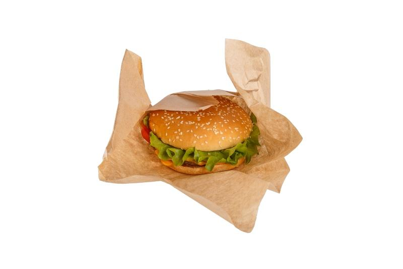 Bio Wrapping Paper - Bio Wrapping Paper for burgers and sandwiches