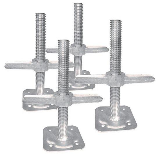 Scaffolding Base Jack - with Forged Nut