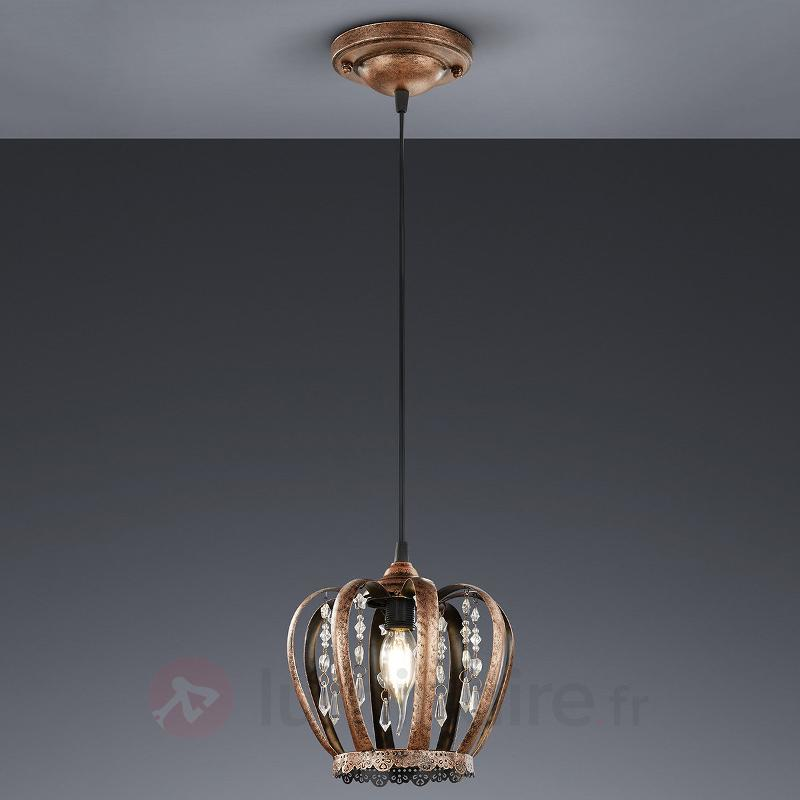 Suspension couleur cuivre Mette - Toutes les suspensions