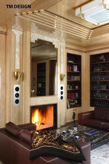 Luxury wall sconce - model 658