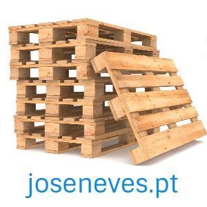 Paletes de madeira, plástico ou cartão -