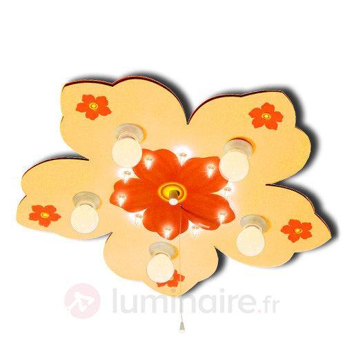 Plafonnier Petite fleur avec veilleuse - Chambre d'enfant