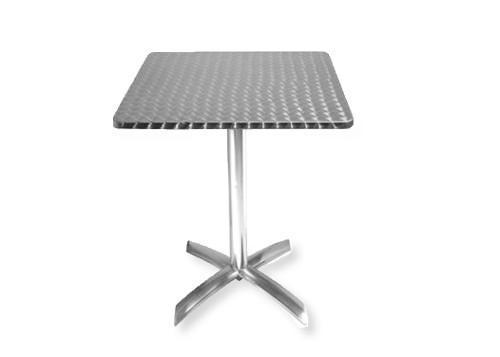 Tables - Bistrotisch 60x60 cm, klappbar, Edelstahl