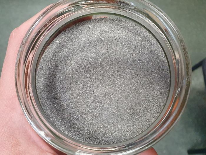 Powder for increase of wear resistance of blocks - iron powders