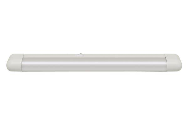 REGLETTE MINCE SLIMLINE 18W BLANC - Intérieur standard