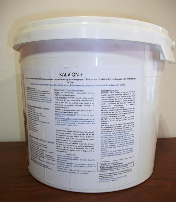 Aliment complémentaire pour veaux en phase lactée