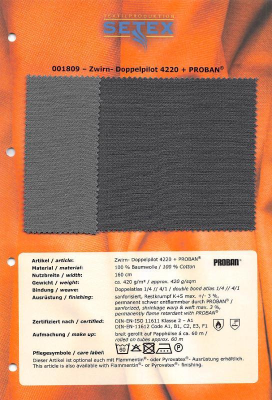 Zwirn-Doppelpilot 4220 + PROBAN® - Zwirn-Doppelpilot 4220 + PROBAN®