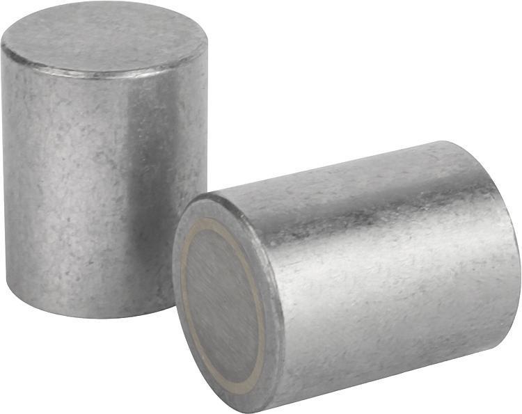 Магниты круглые (магниты-прутки) альнико (AlNiCo) - K0545