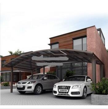 double carport canopy in France - 2018 New Disigh Arched Polycarbonate Solid Sheet Roof And Aluminum Frame Japan