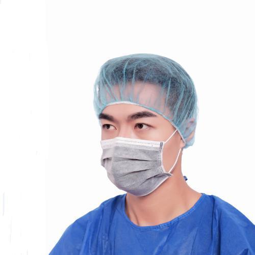 Máscara facial de carbono ativado de quatro camadas