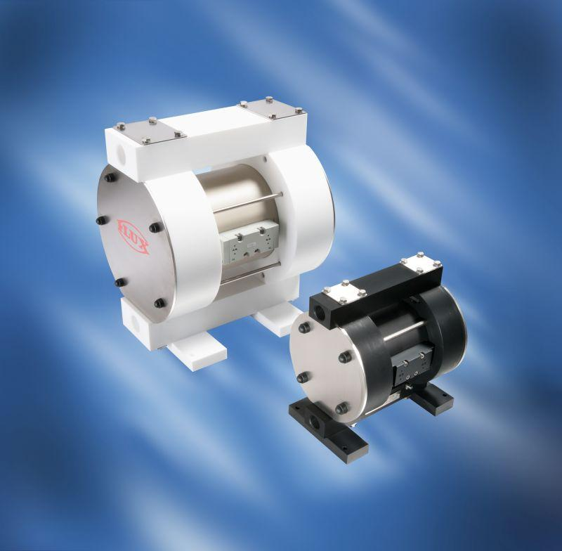 FLUX Air-operated diaphragm pumps RFM/RFML - In heavy duty version and different versions from 30 - 375 l/min