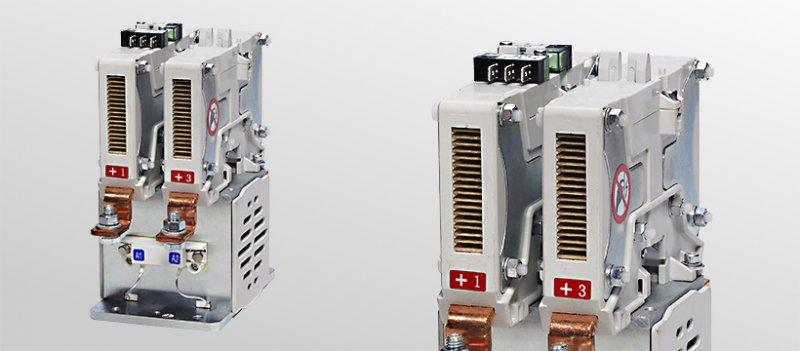 NO contactors for voltages up to 1,500 V - Contactors  for switching DC and AC currents in the medium power range