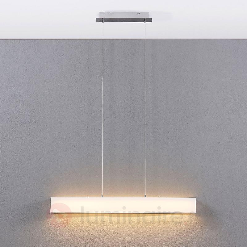 Suspension LED blanche Takia, 100 cm - Suspensions LED