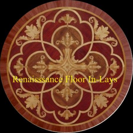 MD-123-A1 - Wood floor medallions