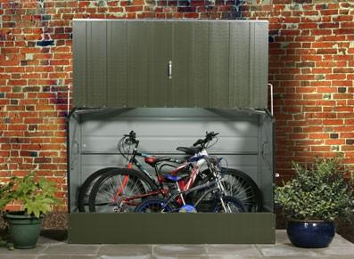 Abri pour vélos et cyclos en métal