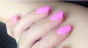 Cosmetics - Pink Nail Polish