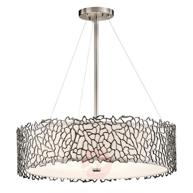Silver Coral hanging light, 55.9 cm - Pendant Lighting