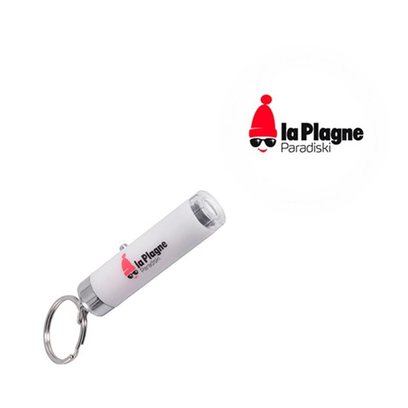 Porte-clés projecteur de logos - Porte-clés métal